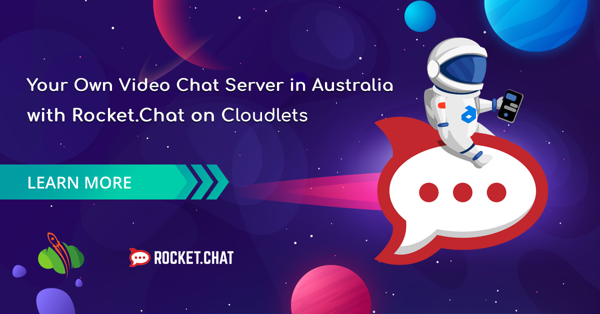 Zoom alternatives for video conferencing: Rocket.Chat step-by-step cloud hosting guide