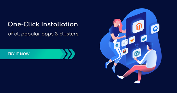 One Click Installations of Popular Apps: Easy Development and Scalable Hosting